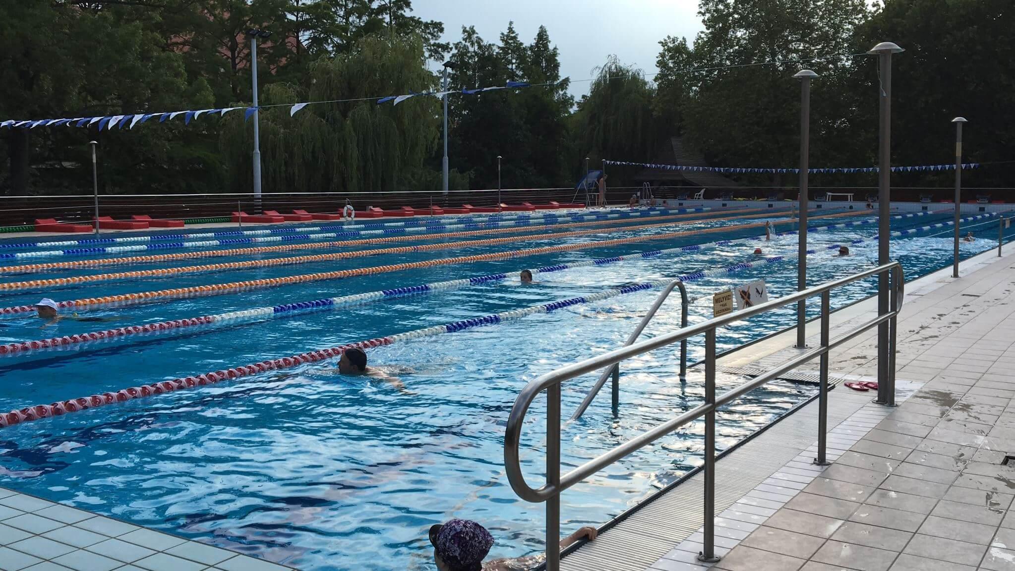 Olympic Swimming Pool, Gyula, Hungary