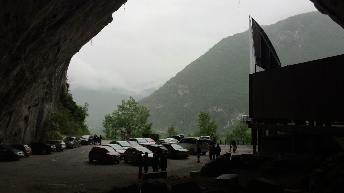 Entrance to Grotte de Niaoux