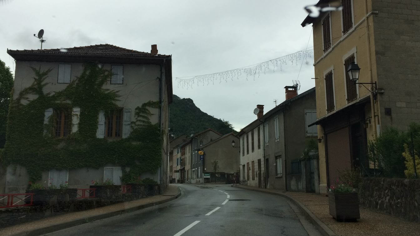 On the way to the Pyrenees