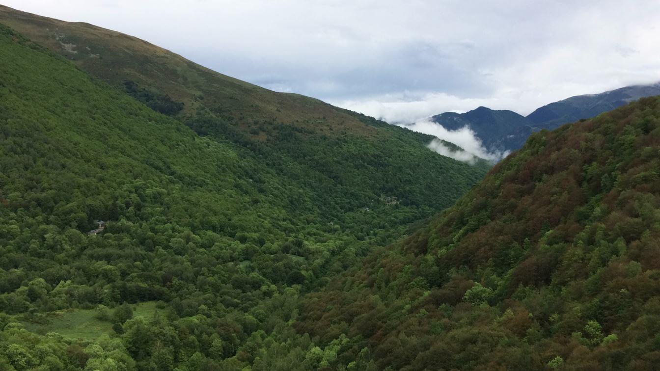 Hills around Grotte de Niaoux