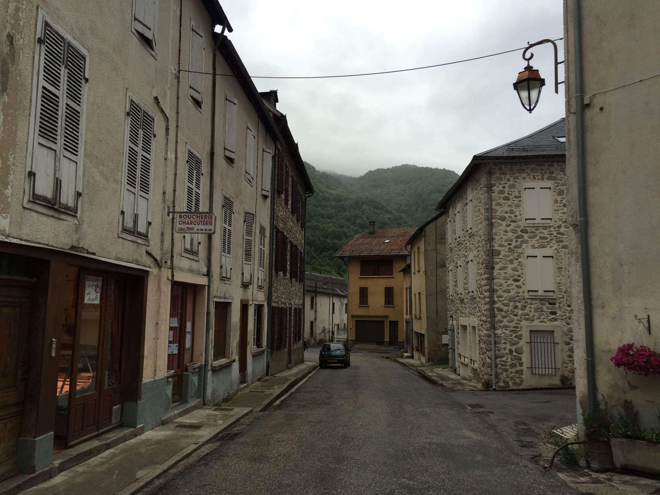 Main Street in Aulus les Bains