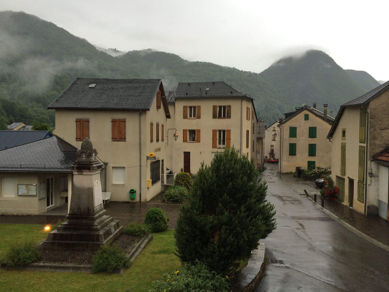 Town center Aulus les Bains