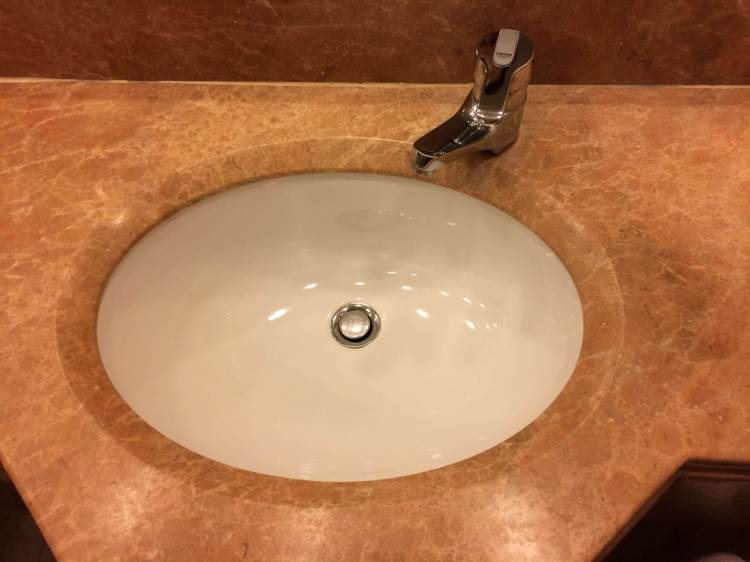The sink was on the small side but still good