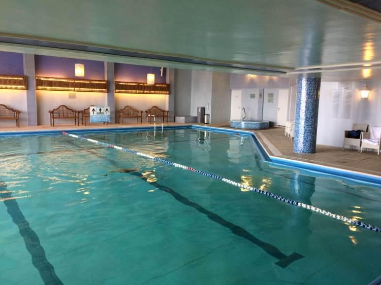 A nice size pool