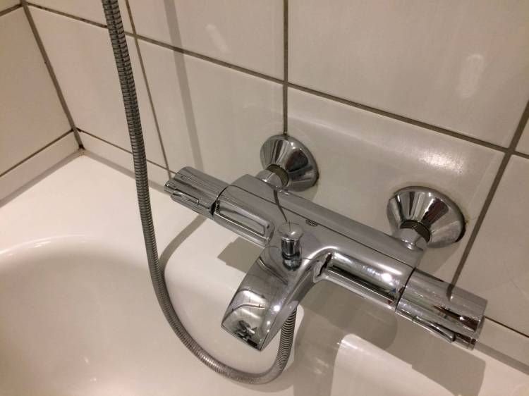 The shower tap