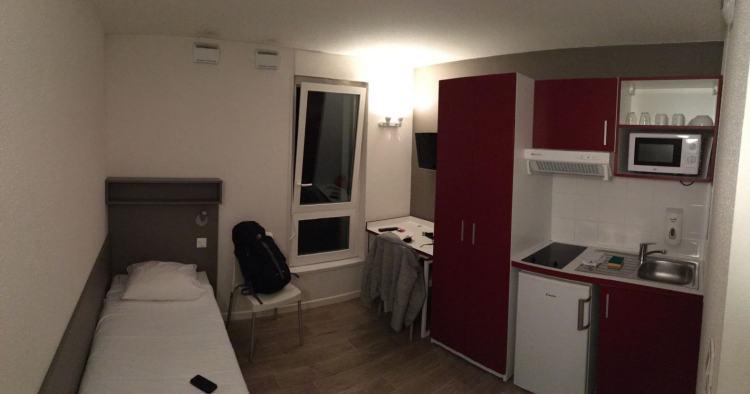 A single room looks like this