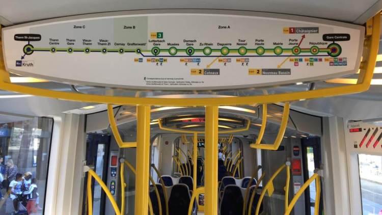 Mulhouse Tram Line 3 to Railways Museum