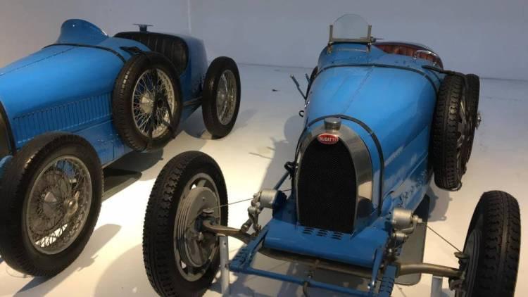 Various Bugattis