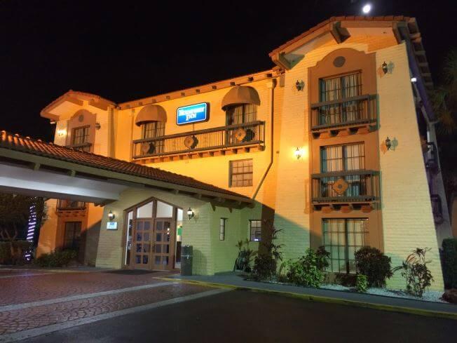 The Rodeway Inn in Ybor City