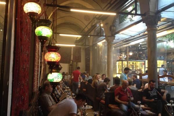 The Grand Bazaar in Istanbul