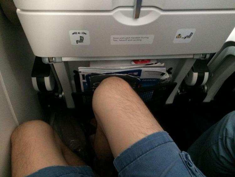 Leg Room on a BA Flight