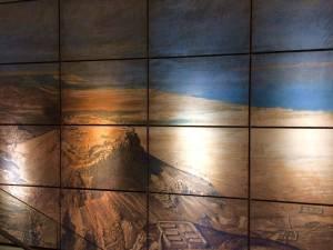 A painting of Masada