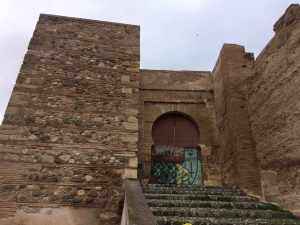 Puerta Monaita in Granada, Spain