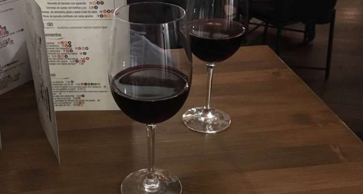 Red Wines at Bar Paco's