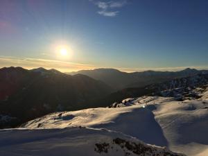 Sunset at Maniva Ski Resort