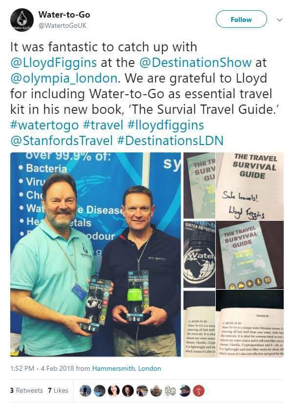 Lloyd Figgins Water-To-Go Book