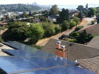 Kosper installation of solar panels on roof