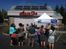 participants gathered outside AutoSpa