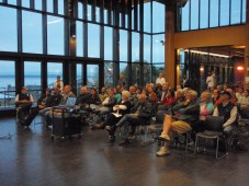 participants assembled at Solarize Mukilteo workshop