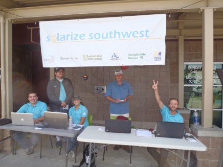 Solarize contractors at White Center workshop