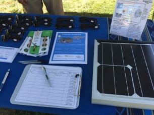 Solarize Issaquah outreach table