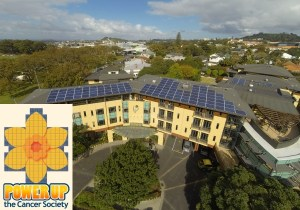 Domain Lodge Cancer Society - SolarKing community project
