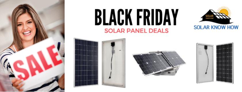 Black Friday Solar Panel deals