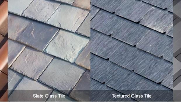 Tesla solar roof tiles