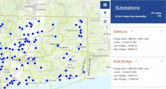 Kevala solar power grid map