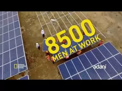 World's Largest Solar Power Plant Covers 2,500 Acres In India