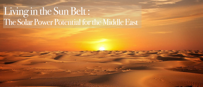 Global Sun Belt - Solar - Middle East - SolarOne - Bahrain