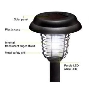 jual lampu taman tenaga surya solar garden light