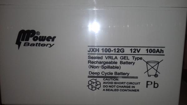 Baterai Solar cell mpower
