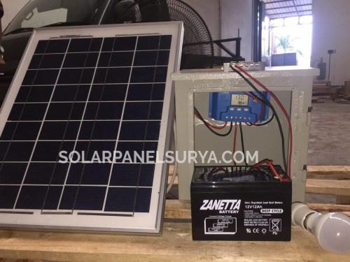Jual Paket SHS 20watt Tenaga Surya