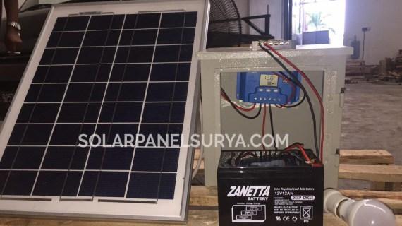 Paket SHS 20watt Tenaga Surya untuk Penerangan Rumah