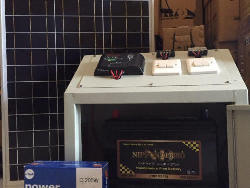 Jual SHS 50Wp Solar Home System