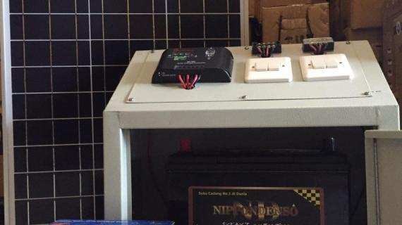 Paket SHS 50Wp Solar Home System