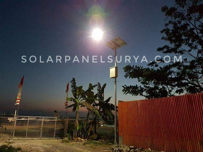 Proyek PJU Solarcell Papua