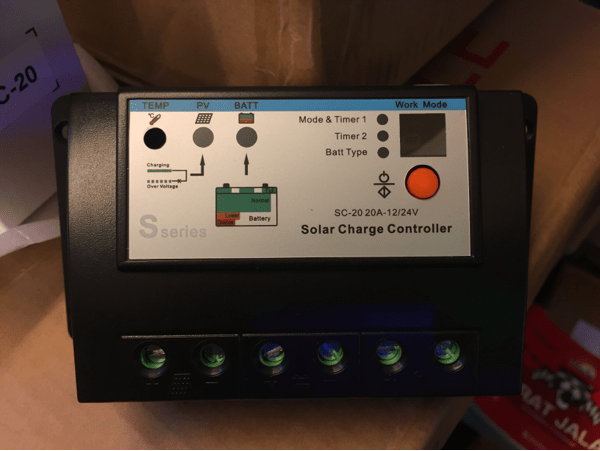 Jual Sseries Solar Charger Controller 20amp