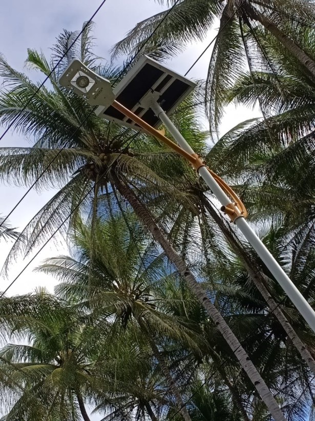 PJU SOLAR CELL Tenaga Surya