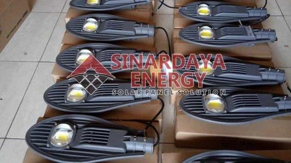 Toko Supplier PJU Solar Cell Gorontalo Sulawesi | Distributor Lampu PJU Tenaga Surya Termurah Bergaransi