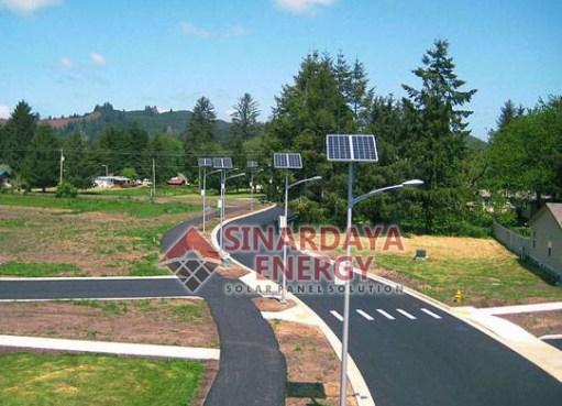 gambar Lampu Solar Panel