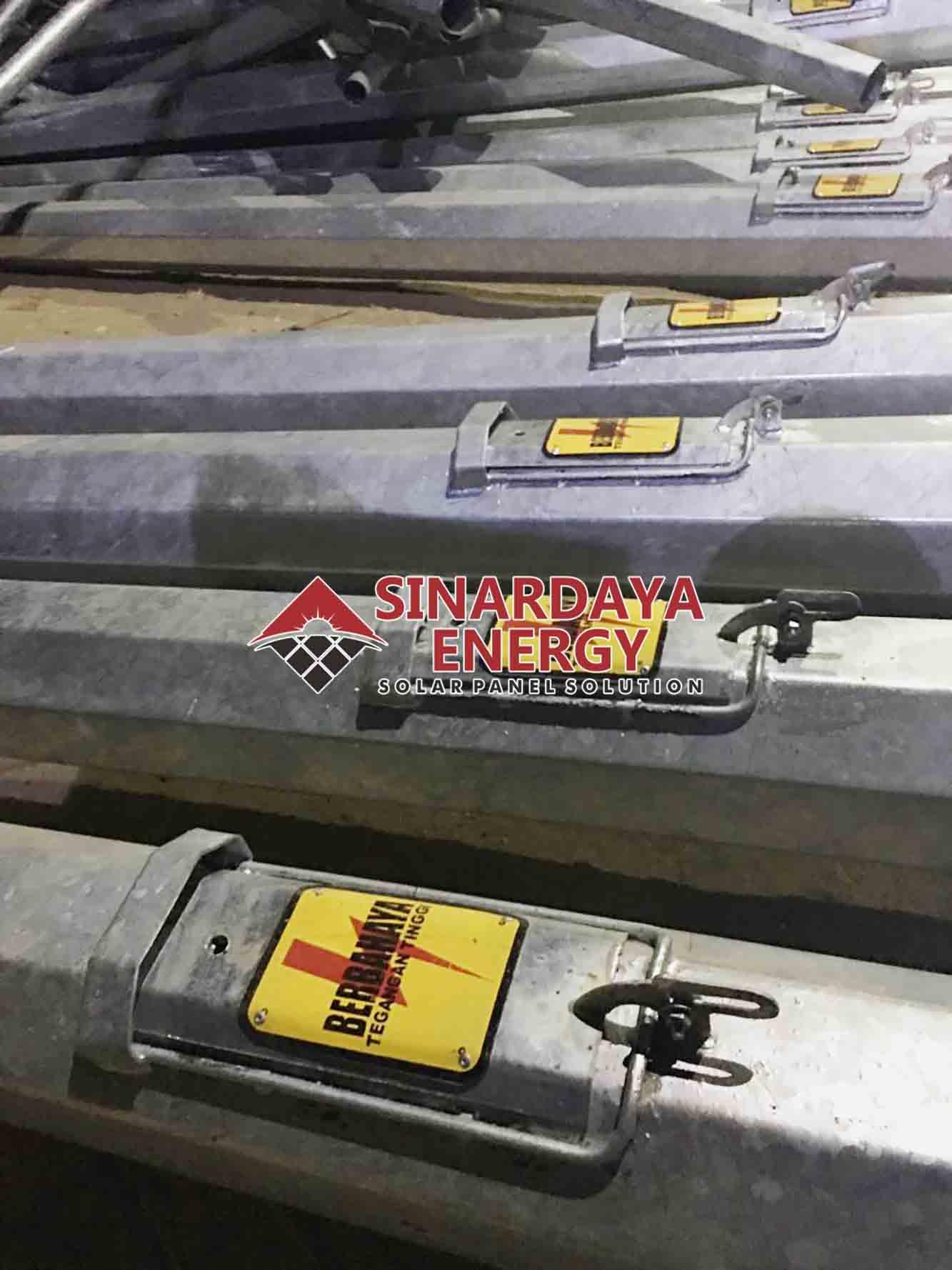 Pabrik Tiang Lampu Pju Surabaya Pju Tenaga Surya Pju Solar Cell Penerangan Jalan Umum Pju