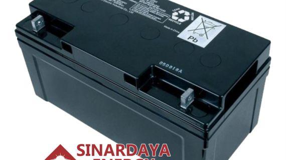 Battery Solarcell Panasonic 12V 75Ah | Baterai Aki Tenaga Surya Panasonic