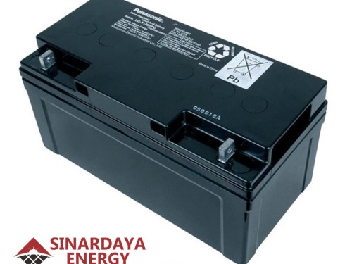 harga baterai panasonic pju 12v 65ah
