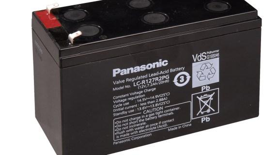 Aki Tenaga Surya Panasonic 12v 7,2ah | Baterai Solarcell panasonic 12v 7,2ah