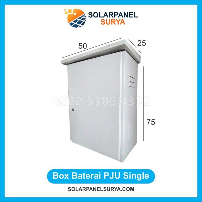BOX Double PJU Solarcell Surya