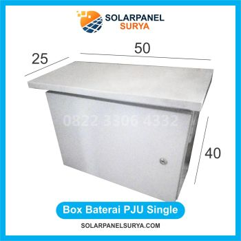 Box Baterai PJU Single