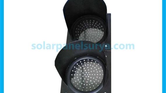Lampu LED Warning Light 2 Aspek 30cm | Lampu Hati Hati