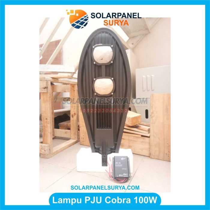 Lampu jalan Tenaga Surya led cobra 100 Watt